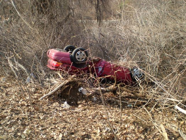 Rollover on Route 128